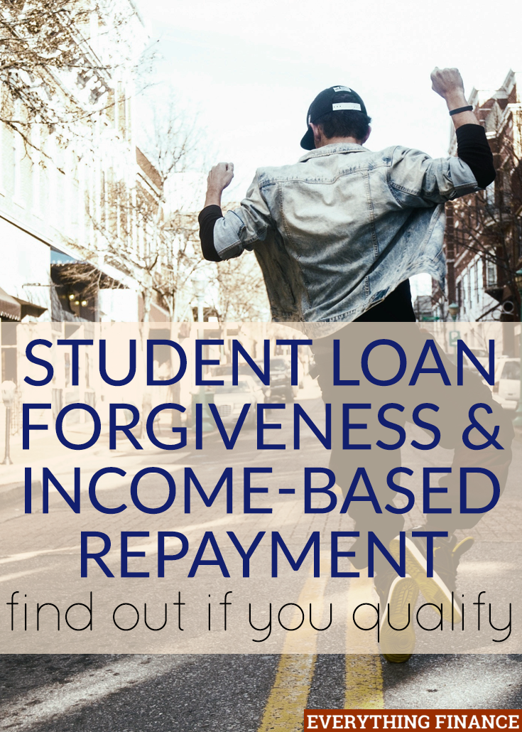student loan forgiveness program and income based repayment plans