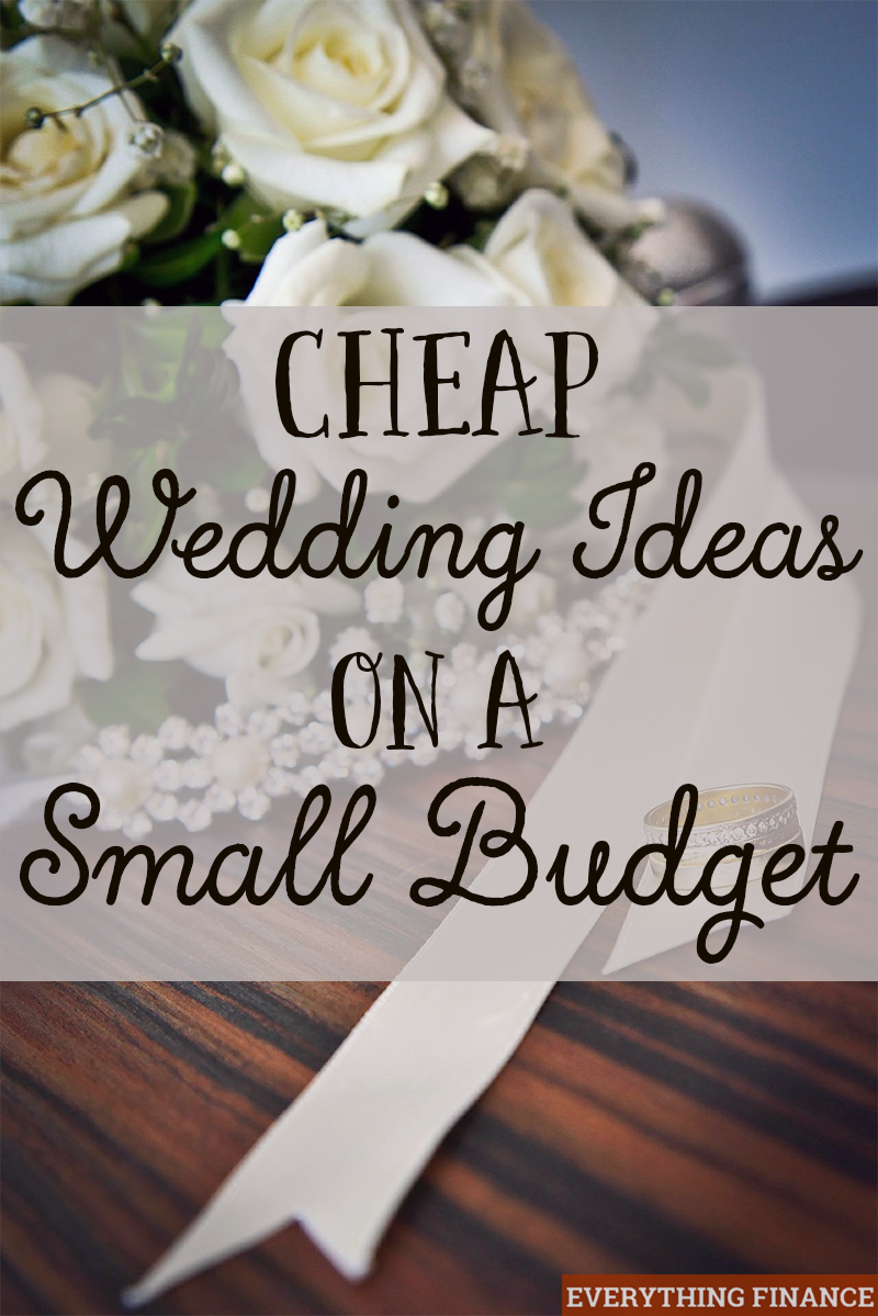 planning wedding small budget