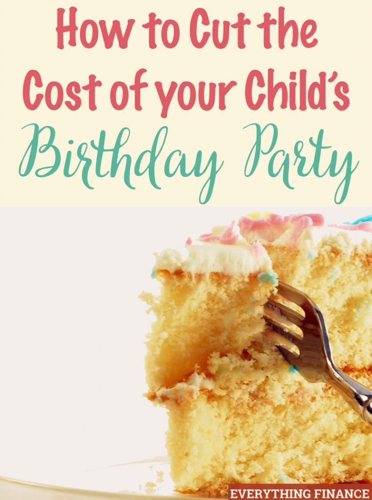 You can celebrate your child's birthday without going overboard on the actual party while still having fun. Here are 3 tips on how to do it!