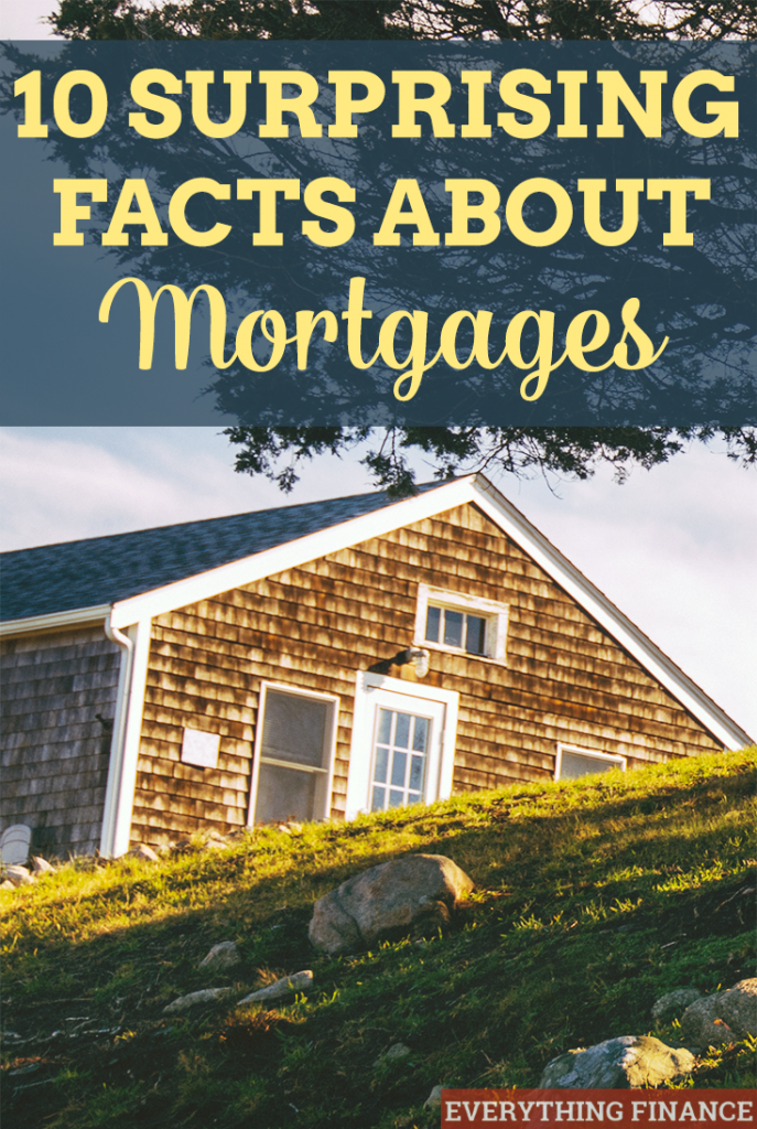Many borrowers think getting a a home loan is easy because it was in the past, but that's not always a case. Here are 10 surprising facts about getting a home loan.