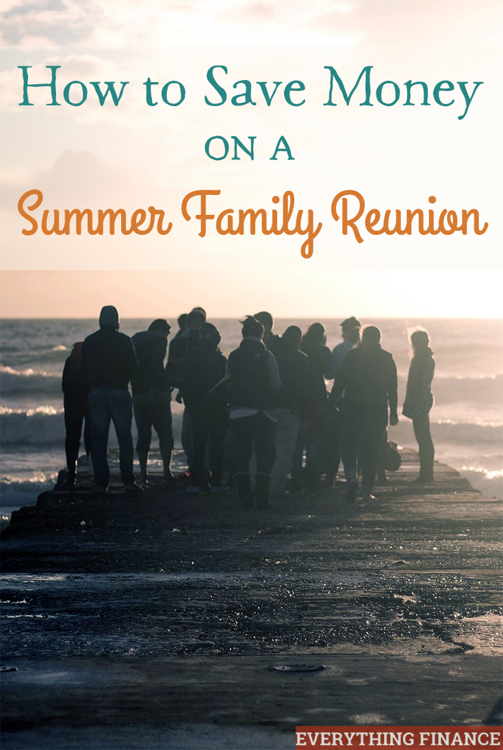 Summer is the perfect time to enjoy the weather with your family. Don't let cost hold you back! Here's a few ways to save money on a summer family reunion.