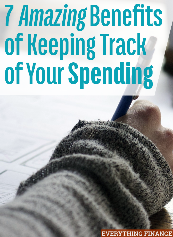 7 amazing benefits of tracking your spending