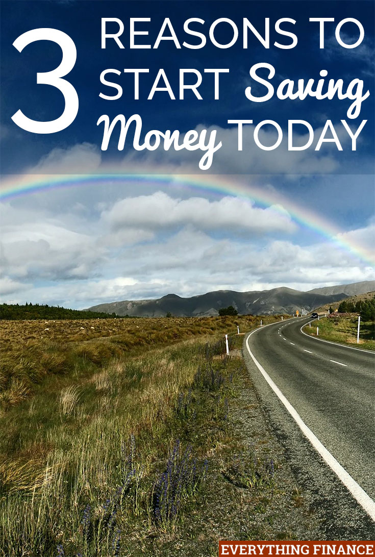 Do you want to make this year the year you start saving money? There's no reason you can't start today. Here's why it pays to save.