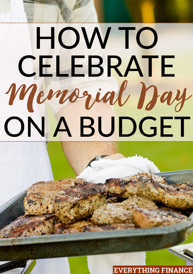 Want to celebrate Memorial Day on a budget? Kick summer off with a bang by using these inexpensive, fun ideas!
