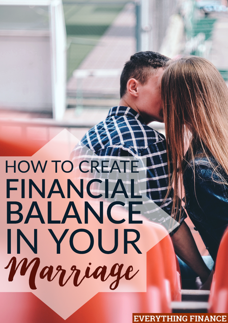How often do you talk about money in your marriage? Is it a source of arguments? Use these 3 tips to create financial balance in your marriage.