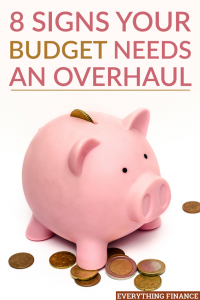 Unfortunately, a budget isn't something you can set and forget. There are times when your budget needs an overhaul to accommodate life changes.