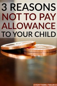 I fear that if I start paying my child an allowance this early, he might get the wrong idea about how to earn money. Here's what I'm doing instead.
