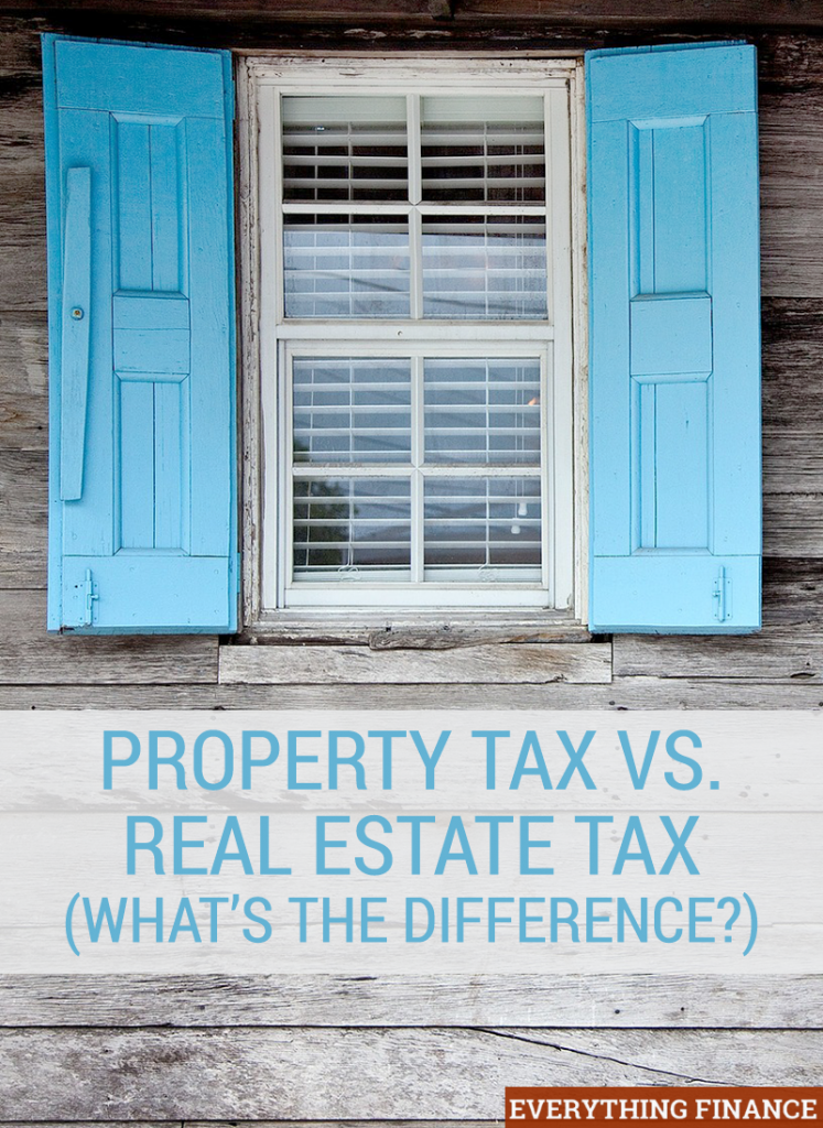 Property tax and real estate tax are used interchangeably, but they're not actually the same thing. Learn the difference and why it's important.