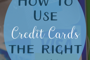Tips for using credit cards responsibly, so you don't become a victim of consumer debt.