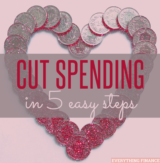 Need help cutting your spending down? Follow these 5 easy baby steps!