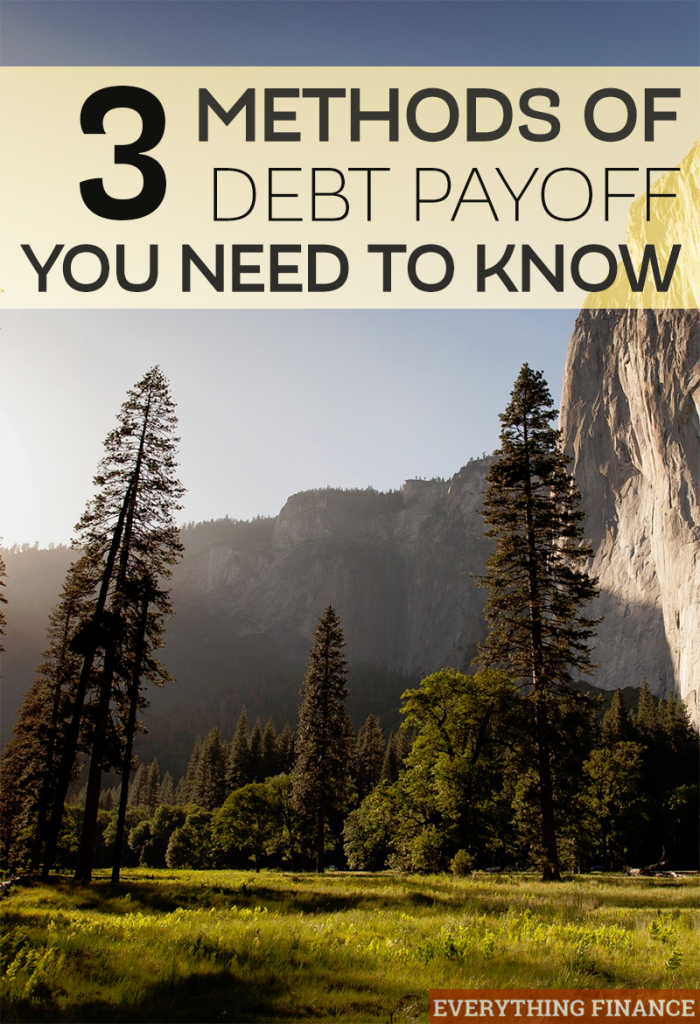 3 methods of debt pay off you need to know if you want to be debt free sooner