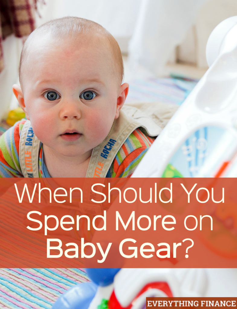 Is it ever worth it to spend more on baby gear? We take a look at 5 popular baby items and give our verdict on whether or not they're worth the price.