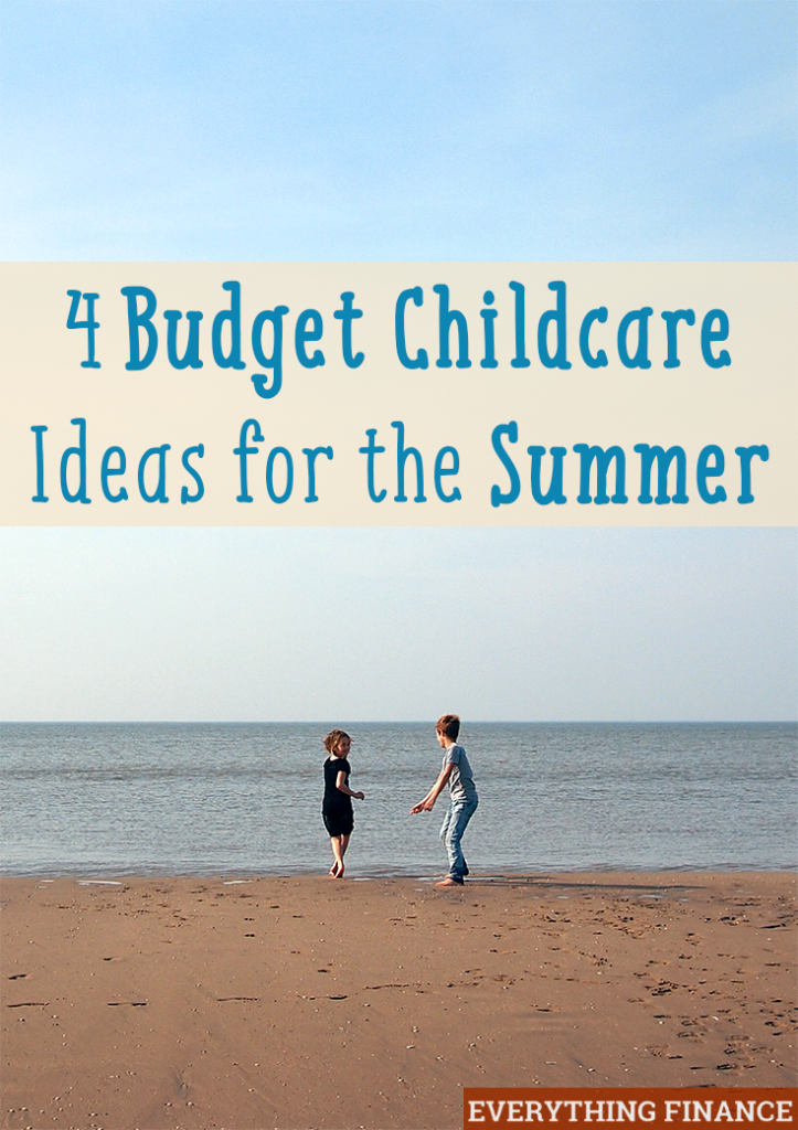 Worried about what to do with your children now that school's out? Here are 4 budget childcare ideas for the summer months so you don't have to stress.