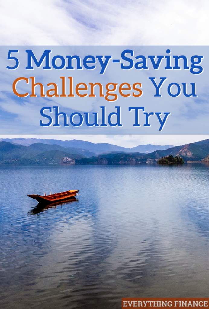 Want to get your finances back on track? These 5 money-saving challenges will leave you putting more in the bank and developing better money habits.