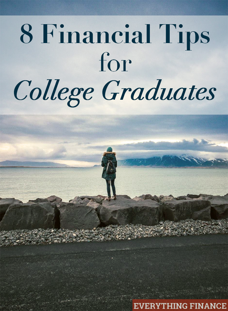 Don't make the same mistakes I did after graduation. Follow these financial tips for new college graduates to get ahead financially from the start.