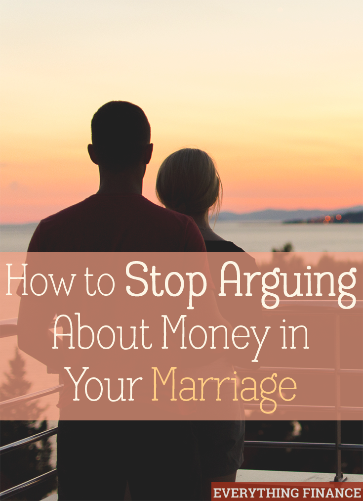 Does arguing about money in your marriage happen often? It's time to get on the same financial page as your partner. Here are 3 tips to stop fighting.