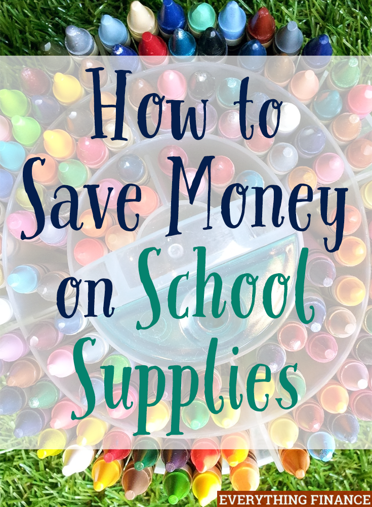 Does the thought of buying a laundry list of supplies for your child stress you out? Here are 9 simple ideas to save money on school supplies.