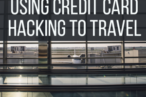 If you want to take advantage of deals from credit cards, using credit card hacking to travel is a good way to earn rewards while you spend.