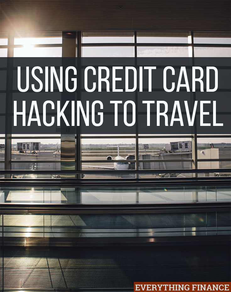 If you want to take advantage of rewards from creditcards, hacking your cards to travel is a good way to earn rewards while you spend.