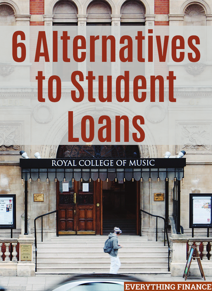 Student debt is the default method used to pay for college. If you want to minimize how much debt you graduate with, consider these 6 alternatives to save money.