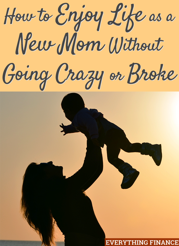 Becoming a new mom can be stressful and hard on your wallet. Here's how to save both your sanity and your savings so you can enjoy motherhood!