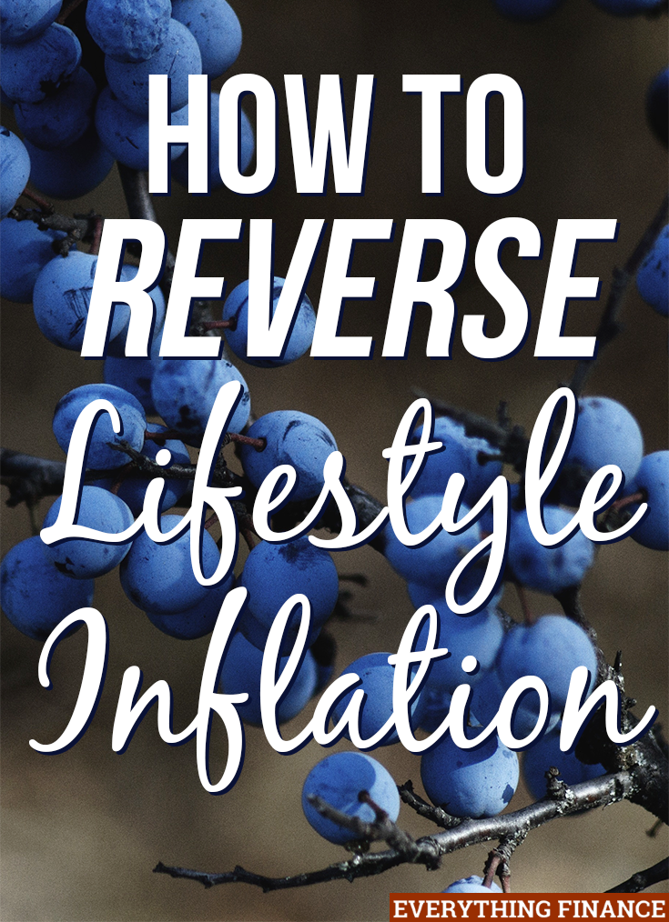 We used to blow our money right and left until we had nothing to show for it. We had to stop, and you can, too. Here's how to reverse lifestyle inflation.