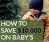 As a new parent, are you distracted with wanting the best, most expensive things for your newborn? Here's how one mom is saving thousands on baby expenses.