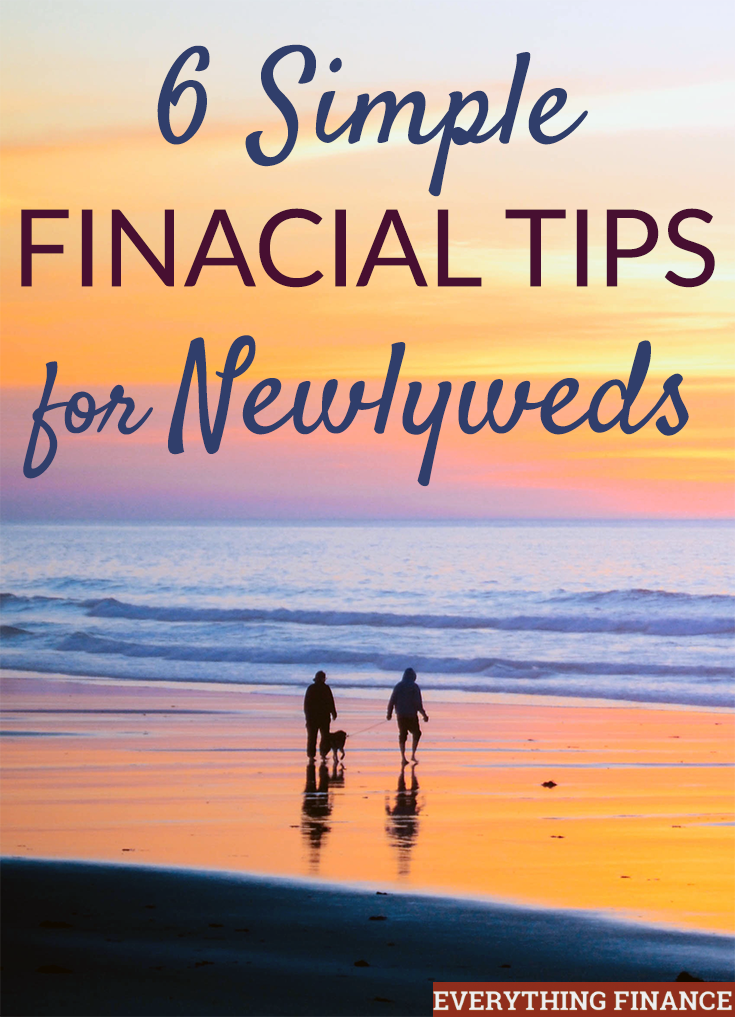 Just married with no idea how to start managing money with your spouse? Don't worry - it's not difficult. Follow these financial tips for newlyweds!