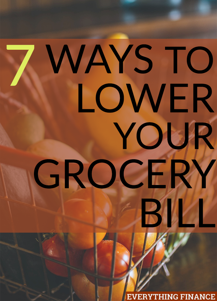 Lower your grocery bill and have more money for paying down debt or building up savings. Here are several tips to get started - it's not that hard!