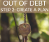 Wondering how to get out of debt before a certain date? You have to create a plan in order to get there. Here's how to figure out your debt payoff date.