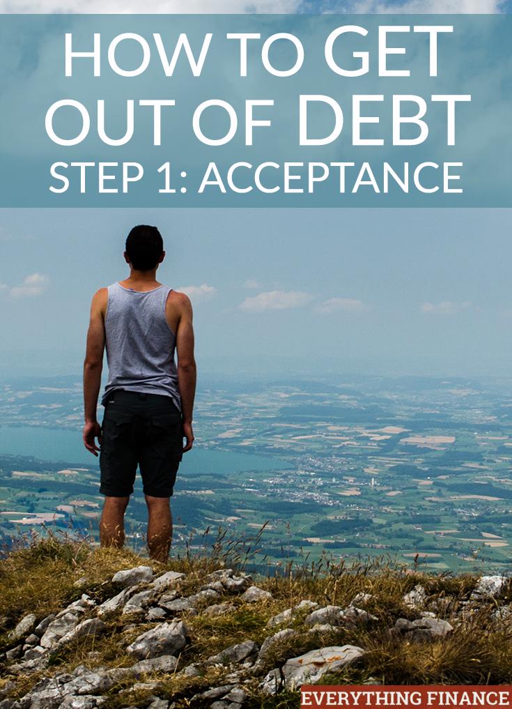 En esta serie, detallamos en cuatro pasos cómo puede salir de la deuda para siempre. ¿El primer paso? Aceptación y calcular cuánto debes.
