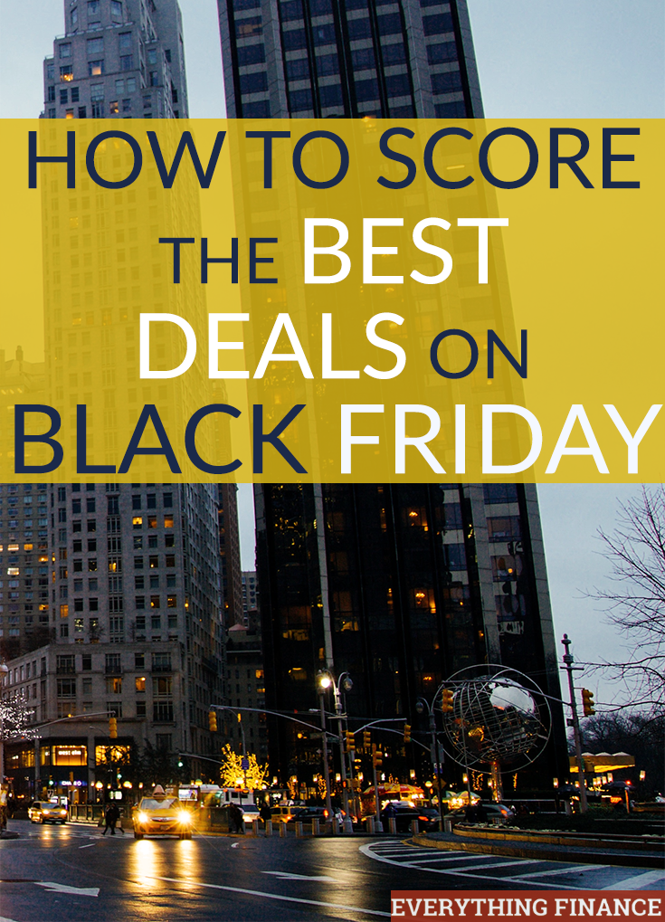 Are you ready to brave the crowds and save money on holiday gifts? Then you need to read these 6 tips to score the best deals for Black Friday shopping.
