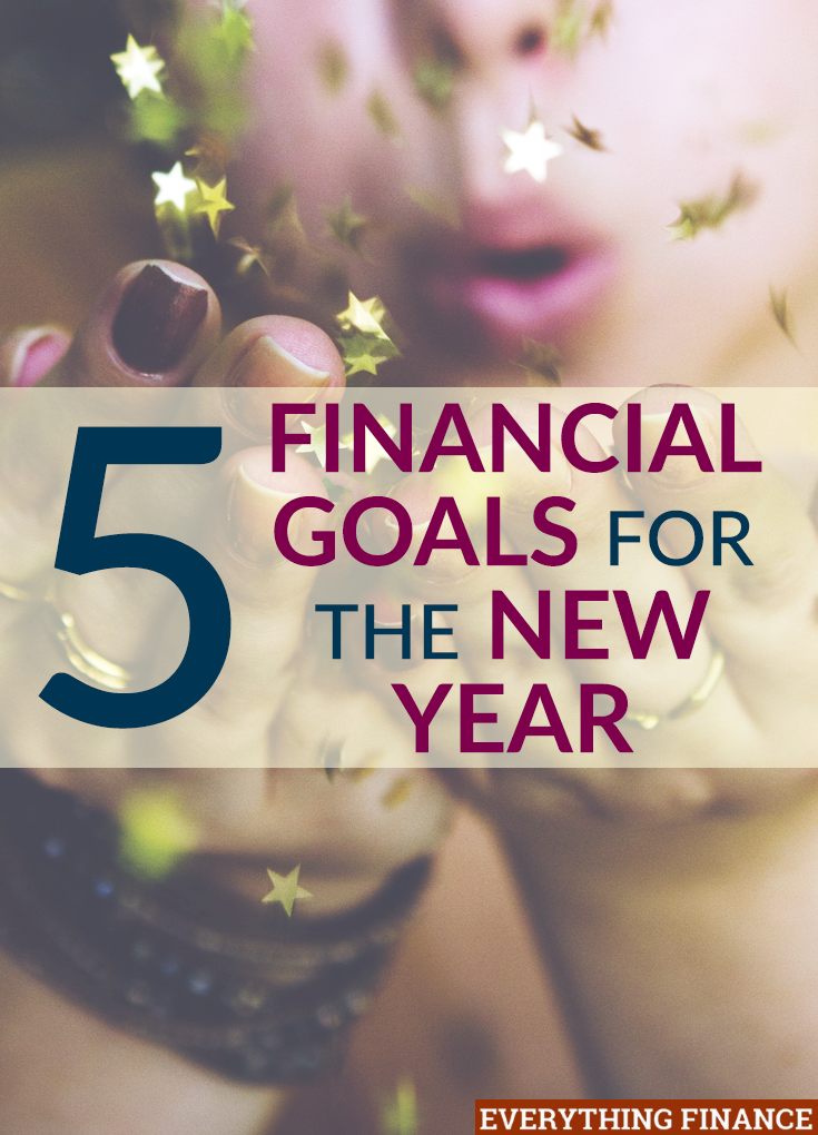 Looking to make money resolutions to stick to this year? These 5 financial goals should absolutely be on your list to improve your situation.