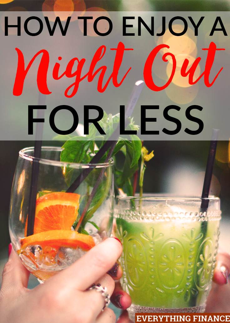 Trying for a night out on a budget? Don't want to wake up the next morning wondering where all your money went? Try these tips!