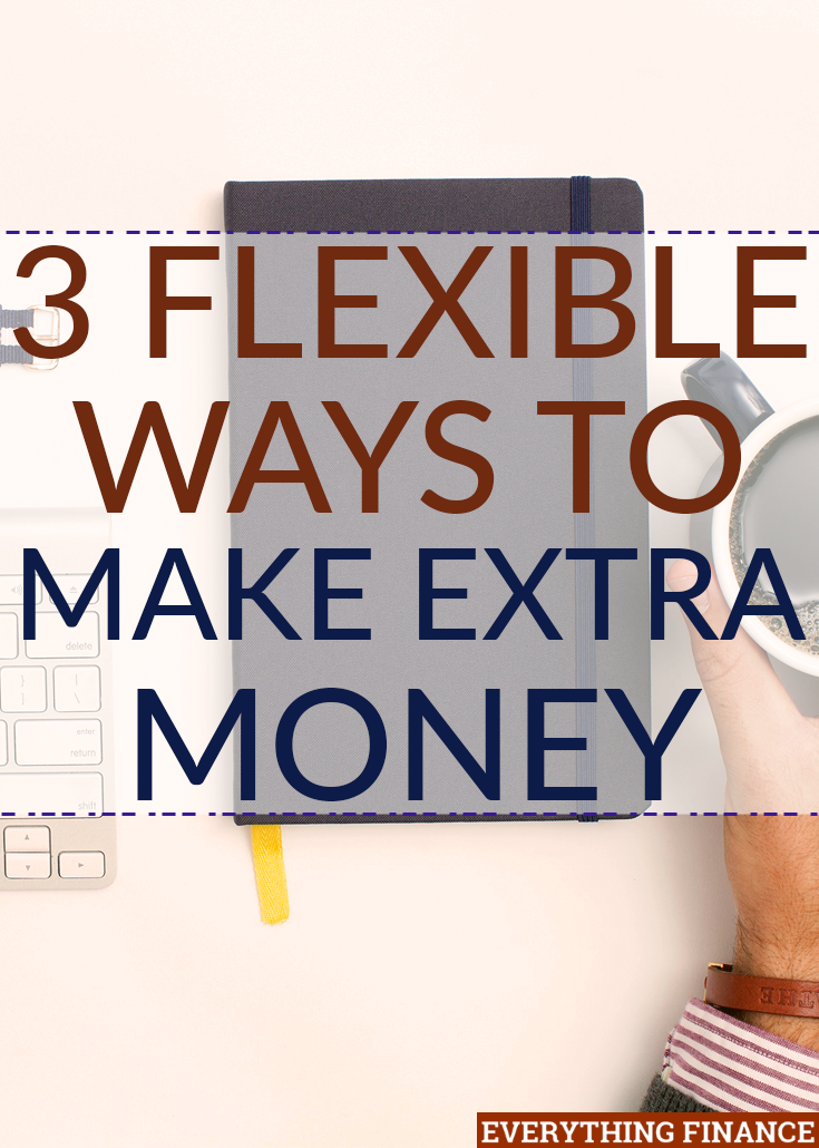 Want to make extra money to pay off debt or save faster? Here are 3 unique side hustles anyone can do in their spare time to accelerate financial progress.