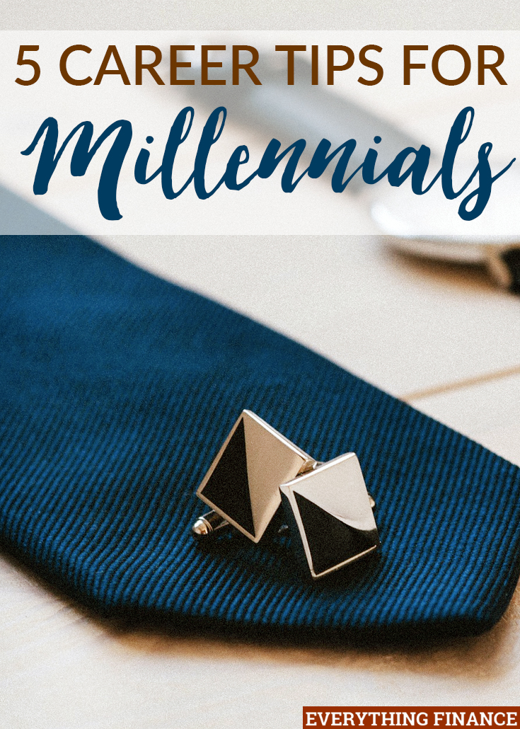 It can be hard to advance in the workplace with the negative stereotype of millennials attached to you. Here are 5 career tips to get you over the hurdle.