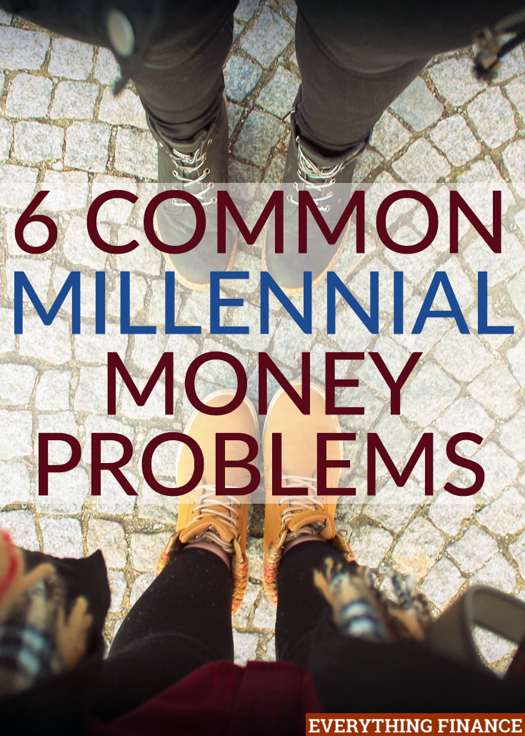 Los millennials se enfrentan a muchos cambios en la vida que pueden tener un gran impacto en sus finanzas. Aquí hay seis de los problemas monetarios milenarios más comunes.