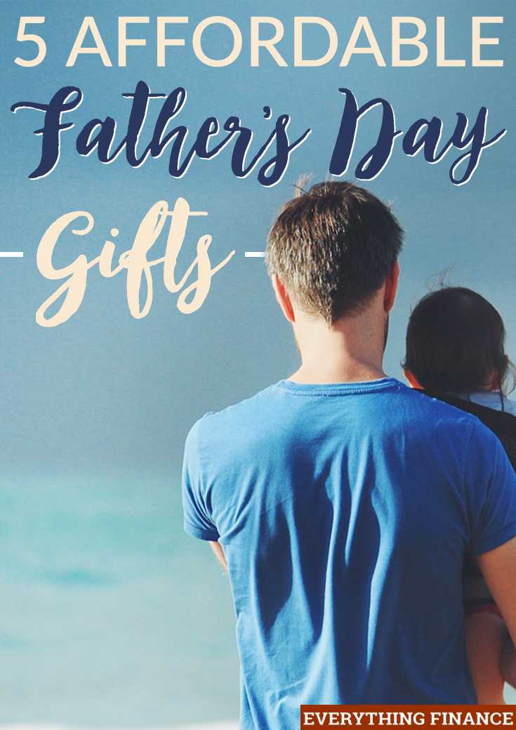 Most dads can be hard to shop for. If you have no idea where to start for his special day, try these 5 affordable Father's Day gifts!