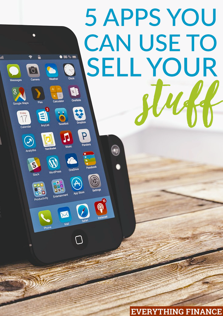 5 Apps You Can Use to Sell Your Old Stuff and Make Money