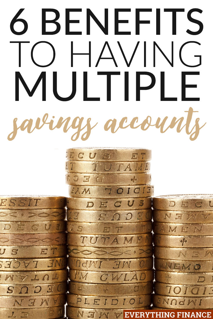 Are you having a hard time keeping track of your savings goals? Having multiple savings accounts can help. Here's how!