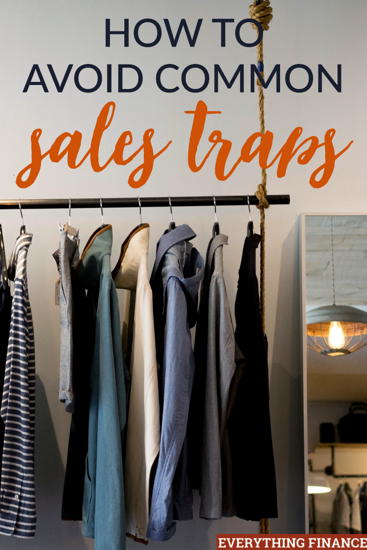 Are you a sucker for good deals? Can't resist a sale? Be careful when shopping because you may be falling for sales traps that don't actually save money.