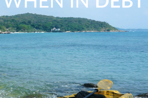 Are you in debt and needing a vacation? While most advice out there tells you not to take a trip, these tips will help you have a summer getaway without halting your debt payoff progress.