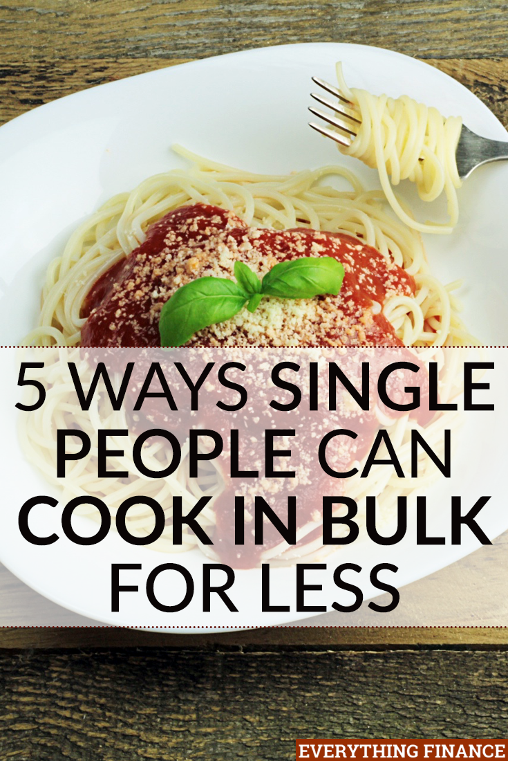 Want to save money on groceries and eat healthy? A lot of tips are aimed at families and don't work well for those who are single. These tips will help you cook in bulk for yourself without groceries going to waste.