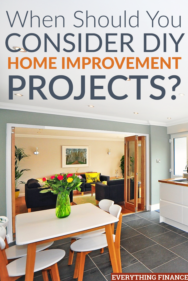 Thinking about making a list of DIY home improvement projects? Here's what to consider to ensure things go smoothly.