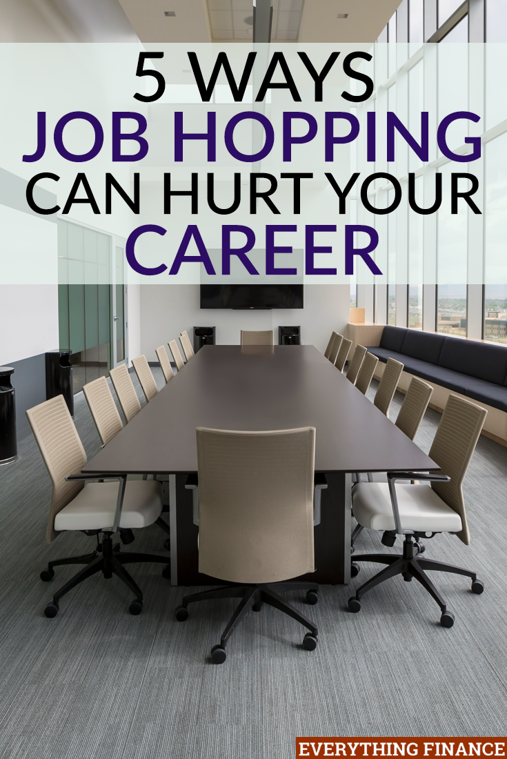 Much of the younger generation sees job hopping as a good thing, and almost as inevitable. While there are instances it can help you, job hopping can also hurt your career.