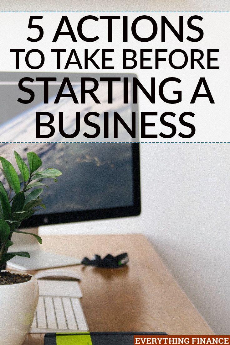 Starting your own business isn't easy, but it's very easy to make mistakes. Learn from someone who has been there and take these five actions first.