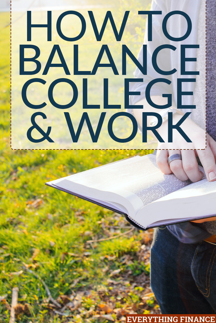 Being in college & learning how to balance work & education can be difficult, but it's a reality many students face to afford tuition. Here are 7 ways to manage.