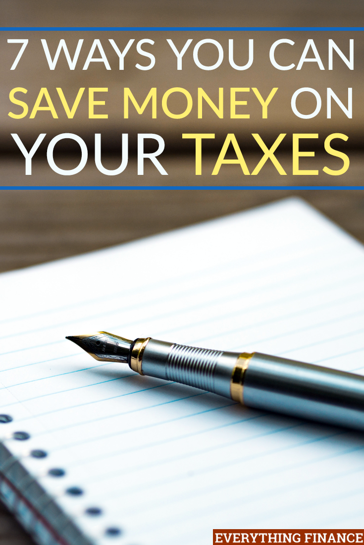 As the end of the year approaches and you begin to prepare your taxes and your return, consider using these seven ideas to save on your taxes.