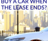 Have you ever signed a car lease? If so, did you think about buying the car at the end of the car lease? Here are some things to consider first!