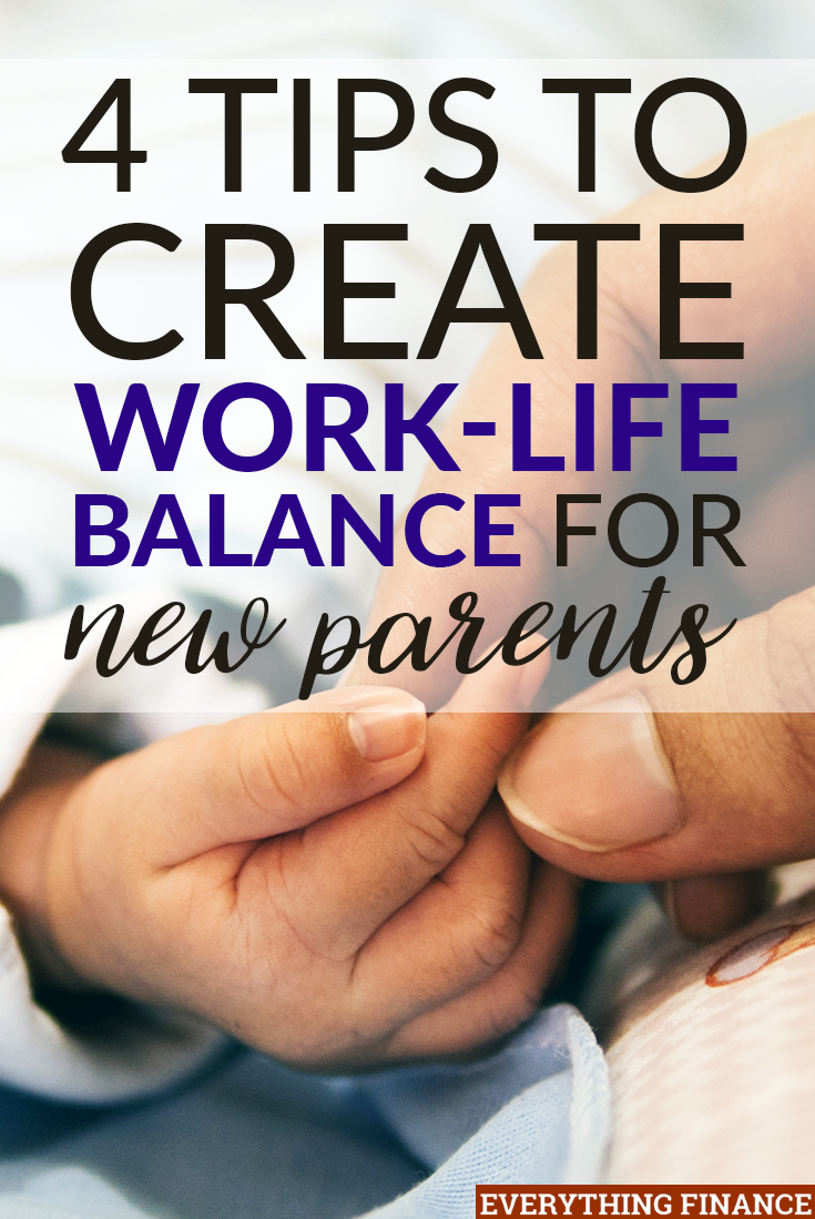 Work-life balance for working parents can seem almost non-existent, but we promise it's not a joke. Achieve happiness with these four tips.